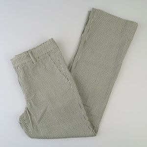 Polo Jeans Company 90s Striped Cotton Pants Size 4